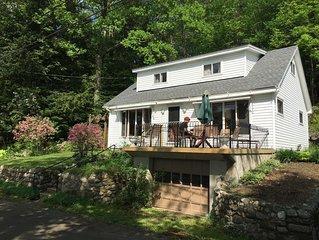 Adirondak Lake House with Private Beach 1 hr. to Saratoga
