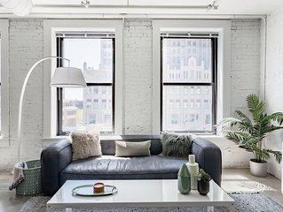 Stroll to Gateway Arch From a Trendy Downtown Converted Loft