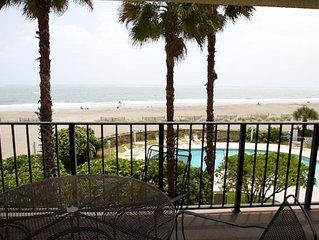 Seascape 215, 2BR Oceanfront Condo w/ Wild Dunes Amenities!