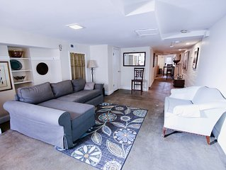 Classic English-style basement apartment in hip Bloomingdale. 600 sq ft. 1/1