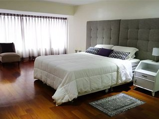 Best location, 2 rooms new apartment fully equipped in the heart of Miraflores