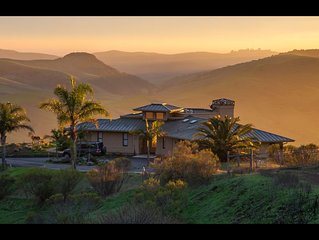 An aesthetic delight high above Cambria steeped in nature but close to town.