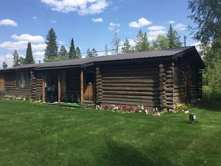 Cabin On Historic Guest Ranch. Private! Fishing! Secluded!