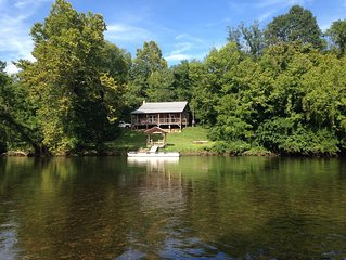 Cabin on Holston River, Fisherman & Paddlers Paradise