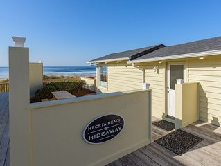 Ocean Front Cottage With Private Beach Access To Heceta Beach