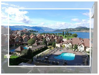 Spectacular Views From This 7th Floor Condo At Sunset Waterfront Resort. Kelowna