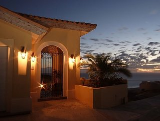 Luxury Oceanfront Villa, Montecristo Estates within Quivira Golf, Los Cabos
