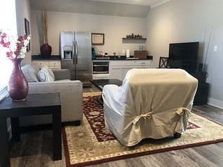 Newly built private garage apartment in Little Rock's Heights neighborhood!