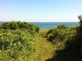 Chic Oceanview Alcove Studio, Beach Pass on 2.5 ac at 743 Old Montauk Hwy.