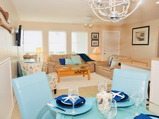 Stunning Waterfront Groundfloor Unit with Boat Slip and Coastal Decor