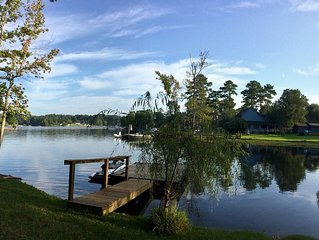 Updated Home on Lakefront Estate With Private Dock and Land