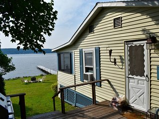Saratoga Lake Direct Waterfront-Glorious Views! Private Dock/Deck/Yard.