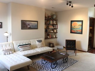 Spacious, private, with room for 4 and amenities galore!