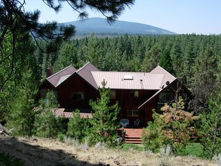 MOUNTAIN RETREAT ~  Spacious And Secluded ~ On 64 Acres!