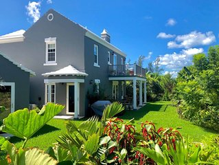 ★ SomerStorme ★ Posh Garden Cottage ★ Flexible Check-in/out