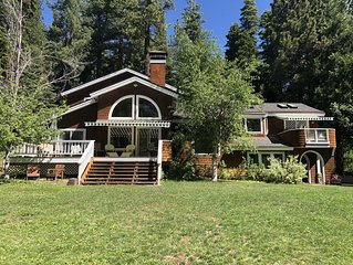 Private Tahoe City 2 Acre Paradise - dog friendly