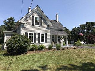 Cozy and quaint Cape Cod Farmhouse
