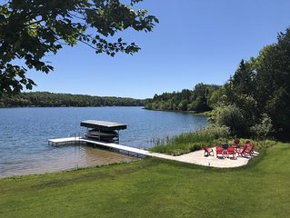 Swim, Bike, Enjoy-3-bed, 4 bath lake front home in Traverse City