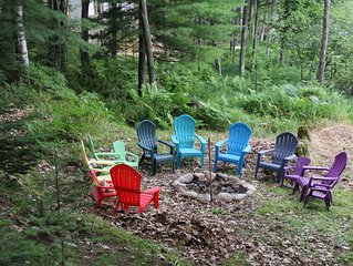 Northwoods Lake Home for Family Vacations