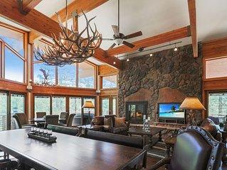 Luxury Mountain Retreat, Pine, AZ: Top Amenities, Backs Forest, Stunning Views