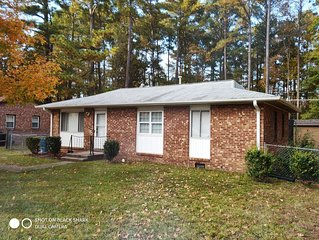 Cozy Home Away From Home Near NC Central University