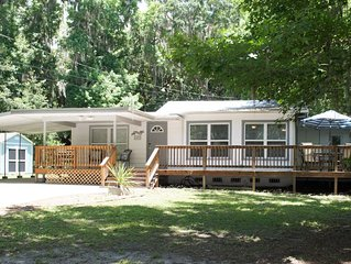 3BR~Close to Water+Heart of CRiver� Manatees� Golf⛳️ Fish� Beach⛱ Food��
