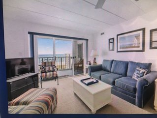 Ocean View Condo steps from the beach