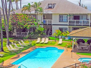Affordable Poipu Kai villa with pool and tennis!