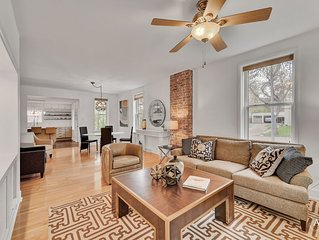 Newly Listed Stylish Home in Mansion District