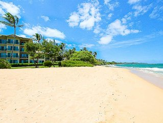 Fabulous 4 br, 6 bath for 12 penthouse beachfront villa!