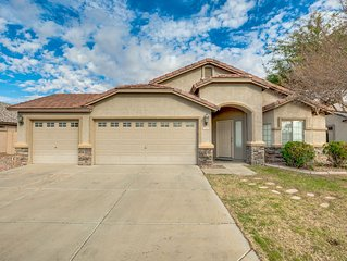 Fabulous Easy living 1 Story home. 4 bdrms & 2 bath, sleeps 9.  FUN Game garage!