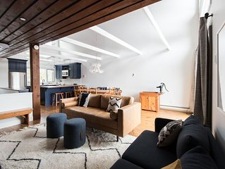 Stunning Newly Renovated Townhouse backing onto greenspace