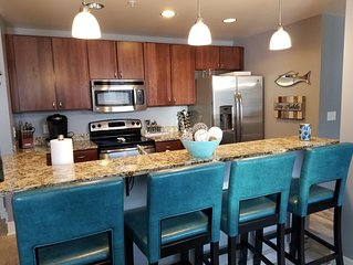 Beautiful condo in the heart of Grand Haven, MI. 1/2 mile to the waterfront