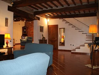 Comfortable house, spacious rooms, great view!