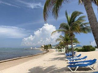 Picturesque Ocean Views, Beachfront 2 bedroom Condo at the Reef Resort
