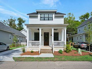 New home by Promenade/Old Town Bluffton. Sleeps 8.