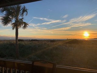 Oceanfront Modern Elegance with Breathtaking Sunsets