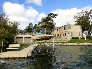 Historic Lakefront Home on Private Peninsula