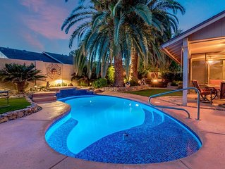 Backyard Oasis with private pool, close to Spring Training and Cardinals Stadium