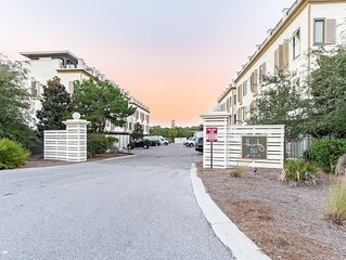 30A Luxury Townhome | Pool | Gulf Views | Blue Mountain Beach