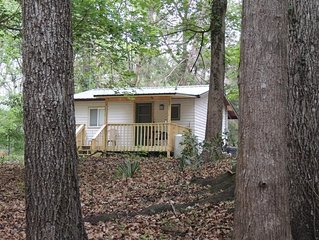Cabin on Sante Fe Inlet in Three River Estates (walking distance to park)