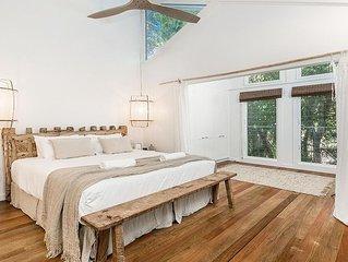 Byron Bay Luxury Holidays - Bel Ombre - Palm Tree Retreat