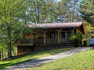 Buckshot Cabin is the perfect Bryson City or Cherokee Cabin Rental for you!