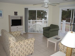 2 Bed/ 2 Bath Condo perfectly located near Golf, Seafood, and the Beach!