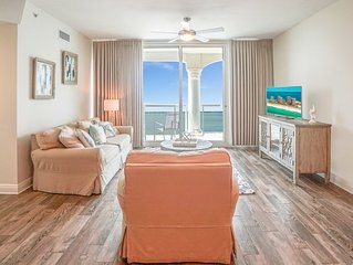 P2-1308 2 BR Portofino Island View Condo Includes Beach Chairs