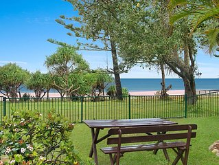 Shoreside Unit 1 - Absolute beachfront ground level unit in Tugun - Wi-Fi includ