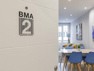 BMA2 by Forever Rentals Apartamento deluxe 1dormitorio. Aire acondicionado Wifi
