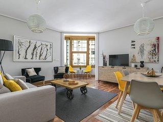 Gran Via 3 by Forever Rentals Apartamento de 3 dormitorios. Wifi. Abando. Grupos