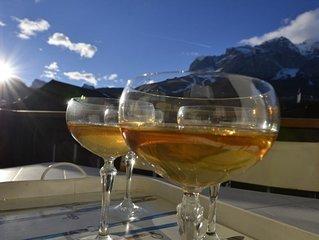 Ca Novella :appartamento in centro con terrazza sulle Dolomiti - WIFI