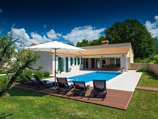 Beautiful Villa near Rabac with private pool